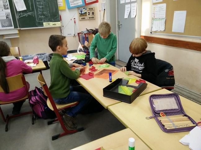 Adventsbasteln In Der Grundschule Kggs Gemeinschaftsschule Kiel